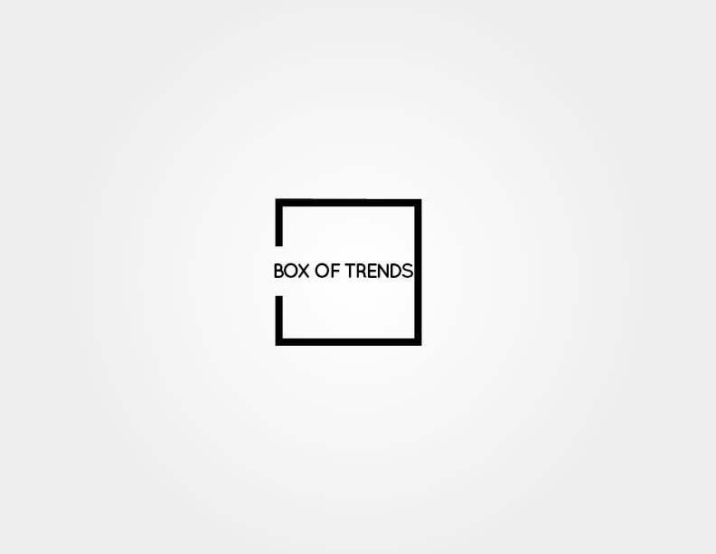 """Penyertaan Peraduan #215 untuk Logo for ecom store """"Box of trends"""""""