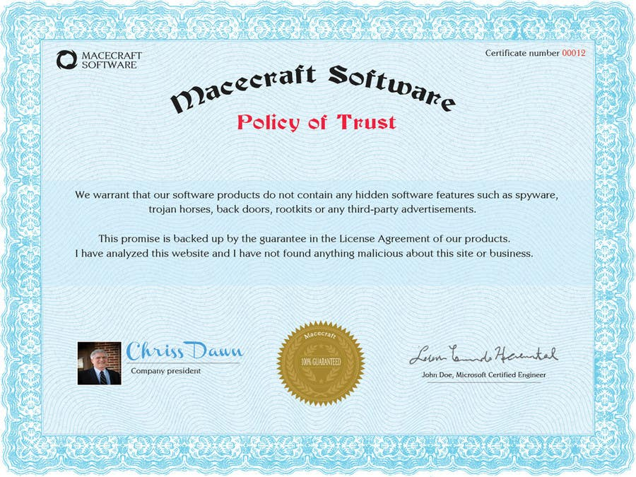 Photography Contest Entry #20 for Website Certificate Design for Macecraft Software