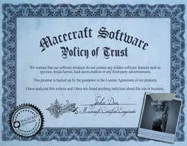 #1 cho Website Certificate Design for Macecraft Software bởi dunyaatay