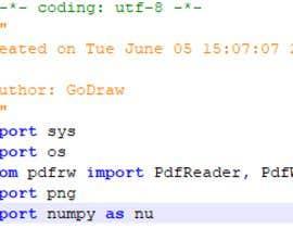 godraw tarafından Software to compare PDF files için no 11