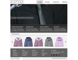 nº 37 pour HOMEPAGE DESIGN FOR MIOVERO - and future work, read descriptions. par Pavithranmm
