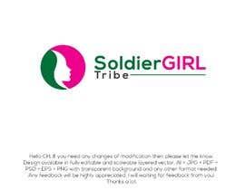 #51 for Logo for Facebook group page-Soldiergirl Tribe af Design4cmyk
