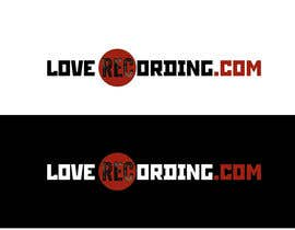 #63 para Logo Design for LoveRecording.com por branislavad