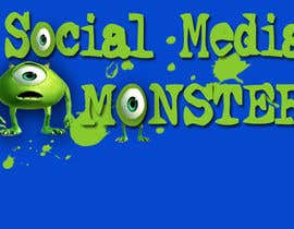 nº 46 pour Graphic Design for The Social Media Monster par kalderon
