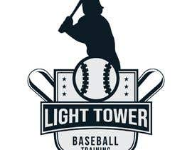 "nº 8 pour I need a logo designed for my baseball training. ""Light tower baseball training"" want a logo of a guy swinging a light pole that i can put on T shirts and hats. Perferred color scheme is neon yellow and grey. Open to characature design par mahinul000"