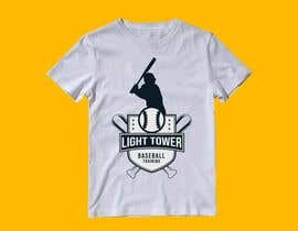 "nº 11 pour I need a logo designed for my baseball training. ""Light tower baseball training"" want a logo of a guy swinging a light pole that i can put on T shirts and hats. Perferred color scheme is neon yellow and grey. Open to characature design par mahinul000"