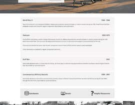 nº 24 pour Website Design for MilitaryUSA.com par Pavithranmm