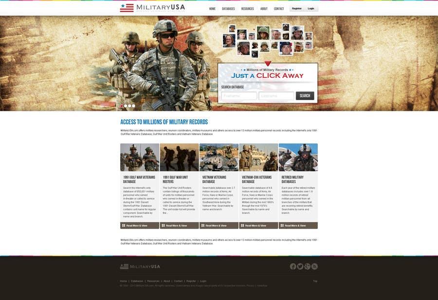 #40 for Website Design for MilitaryUSA.com by creator9