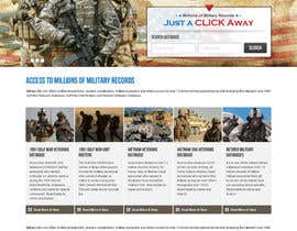 #41 para Website Design for MilitaryUSA.com por creator9