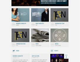 #10 for Design a Website Mockup for the Church by suryabeniwal