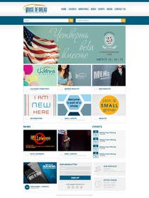 #23 for Design a Website Mockup for the Church by xpertsart