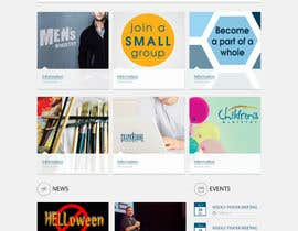 #28 for Design a Website Mockup for the Church by rammiprg