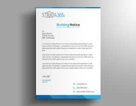 Nro 58 kilpailuun Design some Stationery - Letterhead/notice memo käyttäjältä prantasaha116