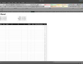#30 for Create a Microsoft word or excel document by Sabatiel