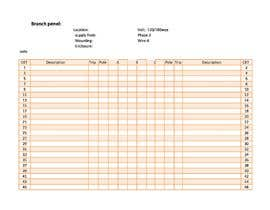 #21 for Create a Microsoft word or excel document by saqibhussain57