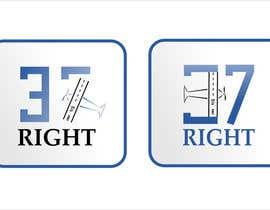 "#65 untuk Impossible Logo Challenge ""37 Right"" oleh giubbecca"