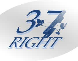 "#104 untuk Impossible Logo Challenge ""37 Right"" oleh giubbecca"
