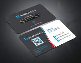 #210 for Business Cards for my chauffeur website by Monirjoy