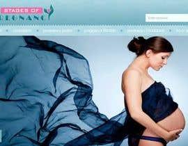 #109 for Design a Logo for my Pregnancy Site af hussa552