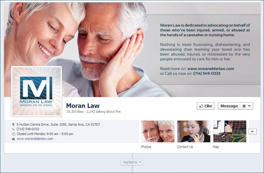 #18 for Facebook Cover Photo Design for Moran Law by softechnos5