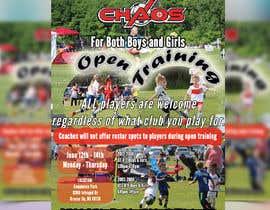 nº 6 pour URGENT Design a Flyer Advertising Open Training for our Club -- 2 par graphicseller