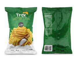 #8 for Logo dan Packaging Design for chips by frontrrr