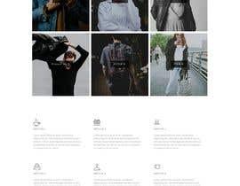 #8 cho Build a website for an apparel company's contemporary line $100 bởi AndreasDEVELOPER