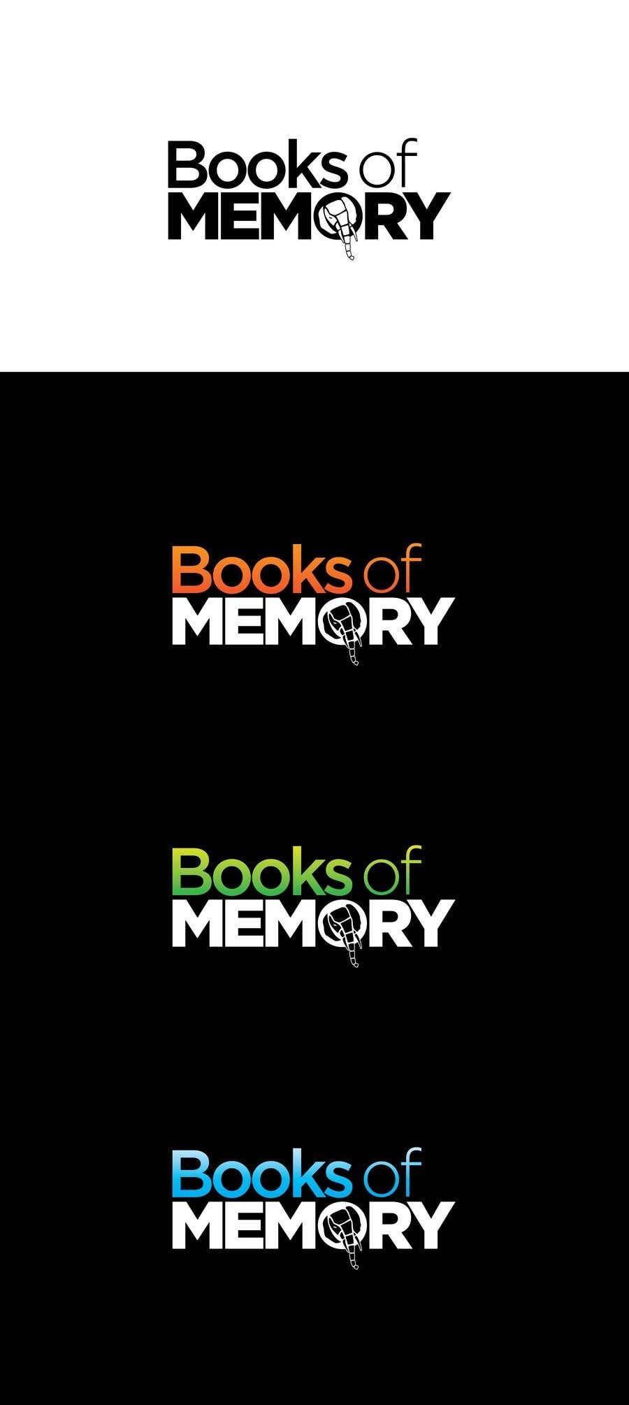 Penyertaan Peraduan #140 untuk BooksOfMemory Logo