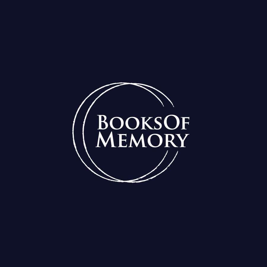 Penyertaan Peraduan #125 untuk BooksOfMemory Logo