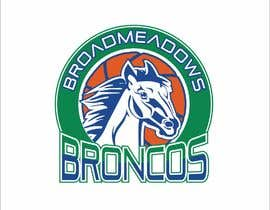 #53 for We like the Timberwolves & Dallas Wings logos & are looking for a graphical logo. Must include a bronco & a basketball (or half ball) in the logo. Logo needs to be high res & able to be used on signage & uniforms  (www.broadmeadowsbasketball.com.au) by SunSquare10