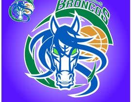 #43 for We like the Timberwolves & Dallas Wings logos & are looking for a graphical logo. Must include a bronco & a basketball (or half ball) in the logo. Logo needs to be high res & able to be used on signage & uniforms  (www.broadmeadowsbasketball.com.au) by ToaMota