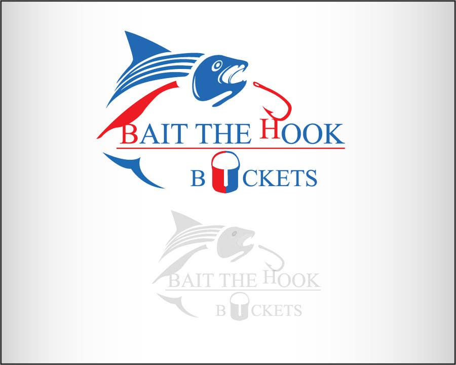 Contest Entry #53 for Logo Design for The Lively Angler or Bait the Hook Buckets  or an original new Brand Name)