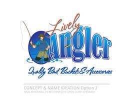 #37 para Logo Design for The Lively Angler or Bait the Hook Buckets  or an original new Brand Name) por LRMStudio1