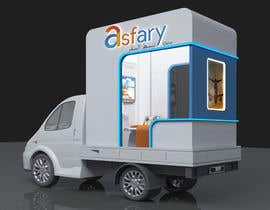 #12 untuk Mobile/Removable Ticketing Counter mounted on a Truck oleh creative3Dwork