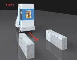 #14 untuk Mobile/Removable Ticketing Counter mounted on a Truck oleh creative3Dwork