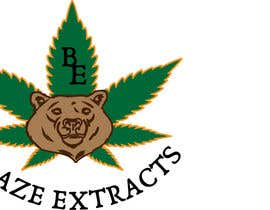 "#12 untuk Please help design a logo company called:  ""Blaze Extracts"".  Please write the words ""Blaze Extracts"" as the California bear (i attached a few images as examples).  Please also add a marijuana leaf behind the bear as a background. oleh suhailrausseo"