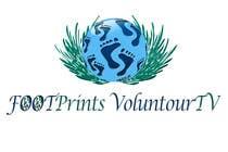 Graphic Design Конкурсная работа №105 для Logo Design for Footprints Voluntour Travel Tv