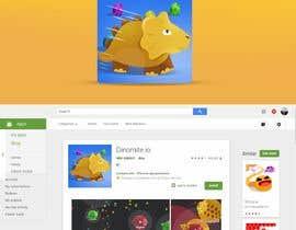Nro 19 kilpailuun Design App Icon for Mobile Game (like Slither.io) käyttäjältä leandeganos