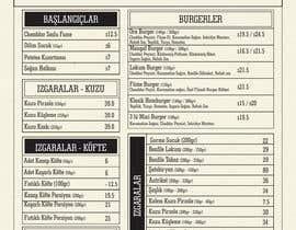 dsavio tarafından Modify already designed menu with new prices and alter some changes için no 6