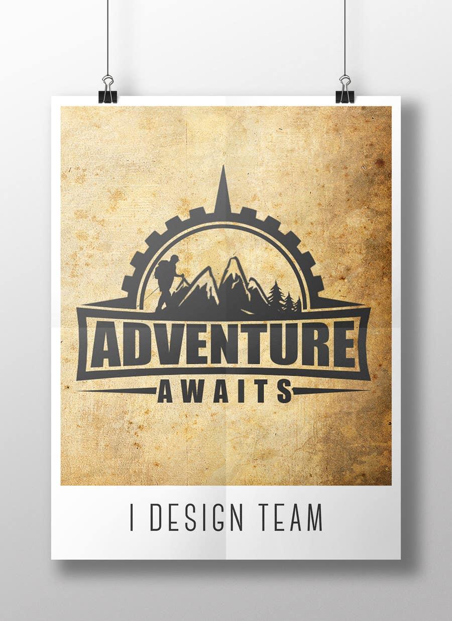 "Kilpailutyö #                                        90                                      kilpailussa                                         Design a Logo for a Family Adventure Company ""Adventure Awaits"""