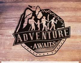 "Nro 94 kilpailuun Design a Logo for a Family Adventure Company ""Adventure Awaits"" käyttäjältä klibre3d"