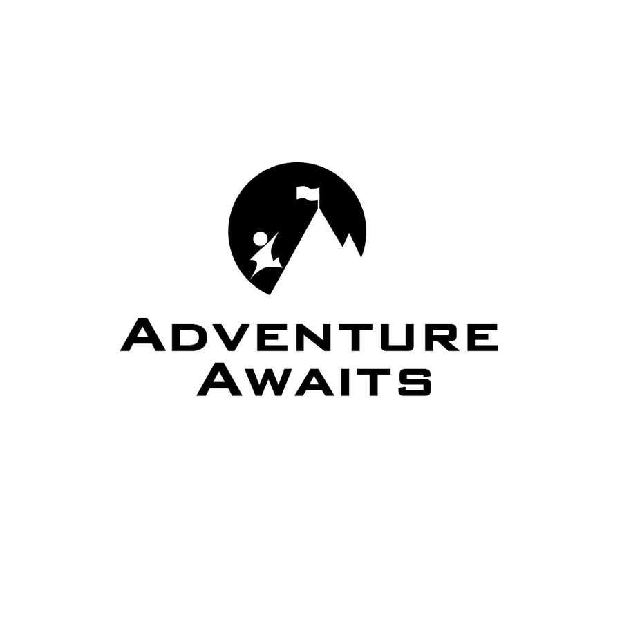 "Kilpailutyö #                                        25                                      kilpailussa                                         Design a Logo for a Family Adventure Company ""Adventure Awaits"""