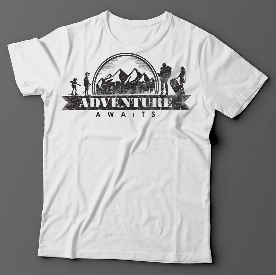 "Kilpailutyö #                                        89                                      kilpailussa                                         Design a Logo for a Family Adventure Company ""Adventure Awaits"""