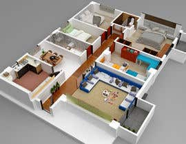 #6 for Interior Design/Layout (Room by Room) with Detailed 3D drawings by Abdulex