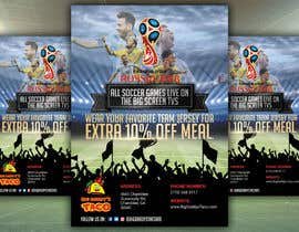 #10 for Design a Fifa World Cup Flyeer by nurallam121