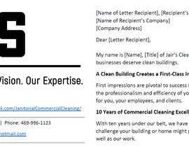 #5 untuk Commercial Cleaning Introduction Letter oleh whetstoneedits