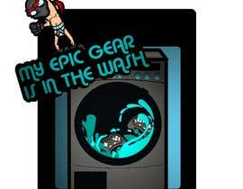 #88 for Gaming theme t-shirt design wanted – Epic Gear by badradio83