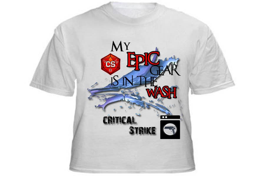 Contest Entry #                                        87                                      for                                         Gaming theme t-shirt design wanted – Epic Gear