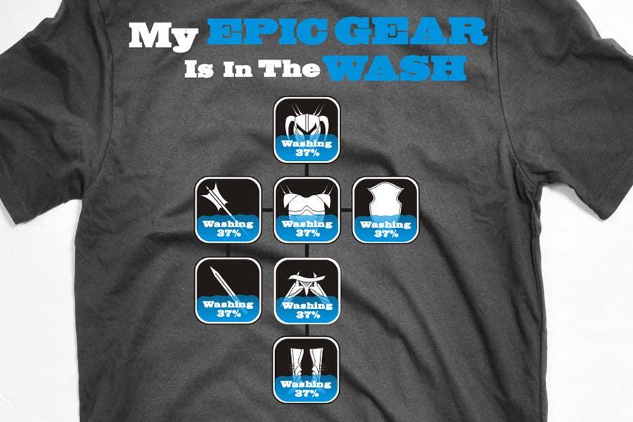 Penyertaan Peraduan #                                        92                                      untuk                                         Gaming theme t-shirt design wanted – Epic Gear
