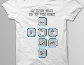 nº 26 pour Gaming theme t-shirt design wanted – Epic Gear par SJVinson
